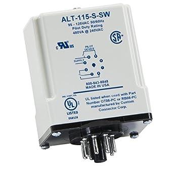 SymCom MotorSaver Alternating Relay with Switch, Model ... on
