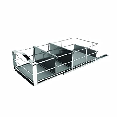 simplehuman 9-inch Pull-Out Cabinet Organizer, Heavy Gauge Steel