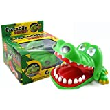 Novetly Crocodile Dentist Bite Finger Game Shocker Toys