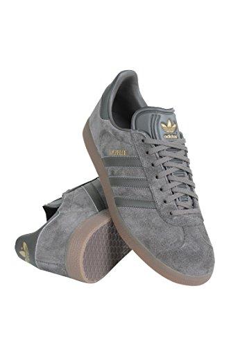 Adidas Heren Gazelle Toevallige Tennisschoenen Nut Grijs