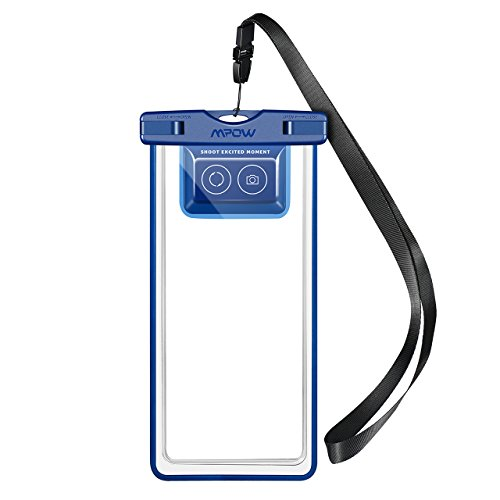 Mpow Waterproof Phone Pouch, IPX8 Waterproof Case, Dry Bag, with Bluetooth Controller for Taking Photos and Videos, Compatible for iPhone X/8/8P//7/6s, Galaxy S9/S9 Plus/S8, Google up to 6.0'' by Mpow (Image #8)