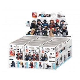 Price comparison product image Sluban Building Blocks Police Serie Minifigures [M38-B0583]