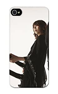 New Snap-on QueenVictory Skin Compatible With For Case Iphone 4/4S Cover Music Guitars Rock Music Boris Jrock
