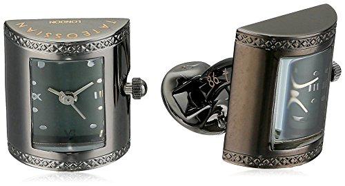 Tateossian Watch D shape Paraiba Topaz Vintage Watch Limited Cuff Link