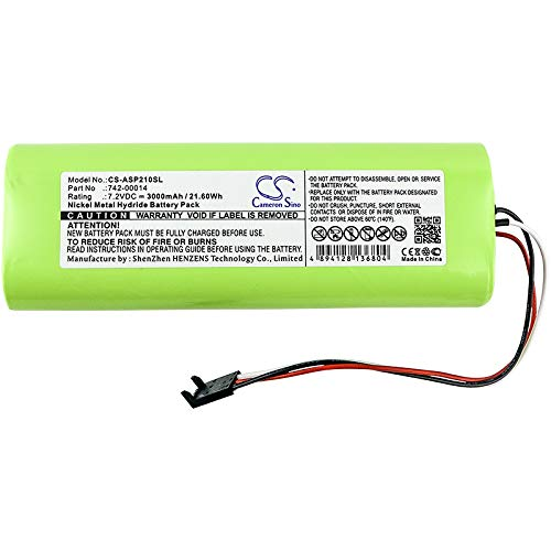 Cameron Sino Battery Compatible With Applied Instruments Super Buddy, Super Buddy 21, Super Buddy 29 (3000mAh)