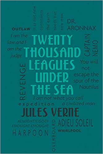 Image result for twenty thousand leagues under the sea word cloud classic book cover