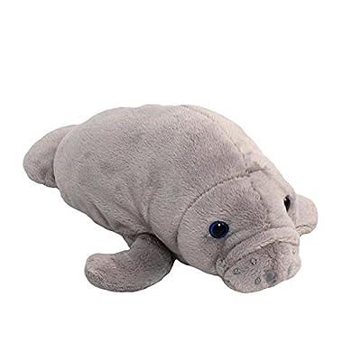 Wishpets Manatee Plush Stuff Animals   Learning Toys
