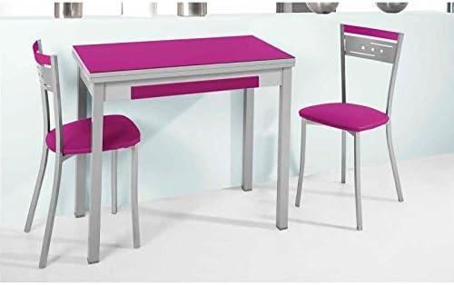 Amuebla 770. Mesa DE Cocina Libro DE 80 X 40 CM.: Amazon.es: Hogar