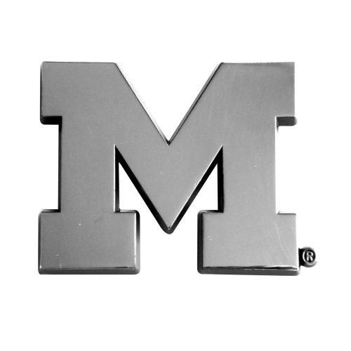 FANMATS NCAA University of Michigan Wolverines Chrome Team (Michigan Wolverines Ncaa Peel)