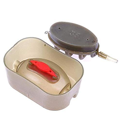 PRINDIY Accessori per la Pesca in plastica con metodo di Alimentazione in Linea Carpa da Pesca per Carpa Canna da Pesca Set da 4 stampi