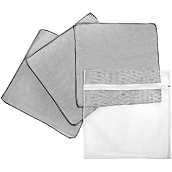 Amazon Com Flylady Silver Microfiber Cleaning Rags