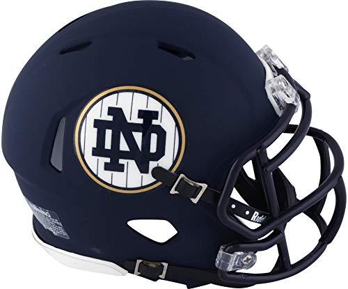 Sports Memorabilia Riddell Notre Dame Fighting Irish 2018 Shamrock Game Revolution Mini Football Helmet - College Mini Helmets
