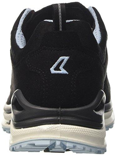 Lowa Innox Evo Gtx Lo Ws, Zapatos de Senderismo Mujer Gris (Schwarz/eisblau)