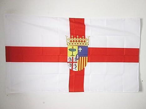 AZ FLAG Bandera de la Provincia DE Zaragoza 150x90cm para ...