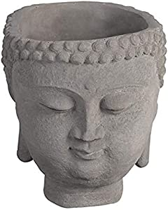 cement-buddha-flower-pot