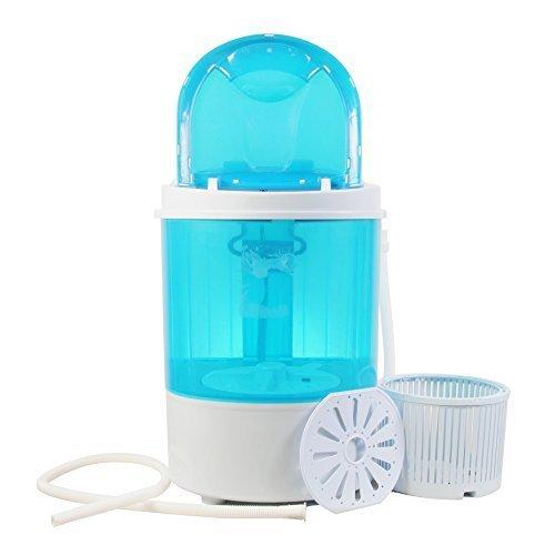 Bismi Mini Portable Washing Machine & Spin Dry 6.6 Lbs Capac