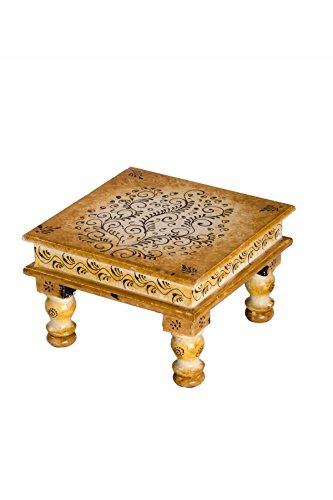 Indischer Tisch orientalischer indischer beistelltisch shishatisch tisch tischchen