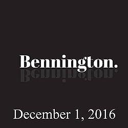 Bennington, December 1, 2016