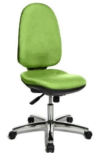 Topstar Drehstuhl Bürostuhl Profi Syncro P70 grün mit Bandscheibensitz