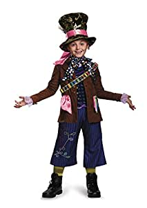 Mad Hatter Prestige Alice Through The Looking Glass Movie Disney Costume, Large/10-12