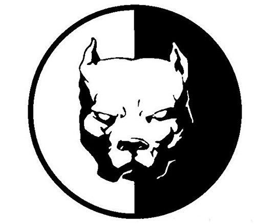 DXYMOO Cartoon Cute Animal Pet Pitbull Super Hero Dog Car Sticker Decals for Car Whole Body Window 12x12cm (Pets Super Sticker)