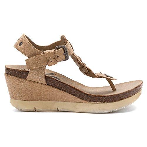 OTBT Women's Graceville Wedge Sandal Stone new arrival sale online KohickSyN
