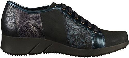 Blau dunkelblau Mephisto Stringate Sneakers Melina Donna qU6Ip