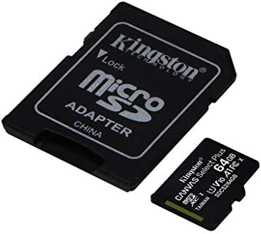 Kingston 64GB ROKU Ultra MicroSDXC Canvas Select Plus Card Verified by way of SanFlash. (100MBs Works with Kingston)