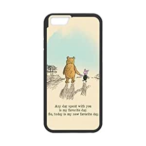 """Winnie the Pooh Quote DIY Cell Phone Case for Iphone6 Plus 5.5"""",Winnie the Pooh Quote custom cell phone case"""