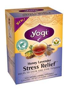 Yogi: thé, hny Lvndr stress Relf, 16 BAG