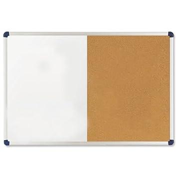 Nobo 1902110 - Pizarra combinada corcho/pared blanca ...