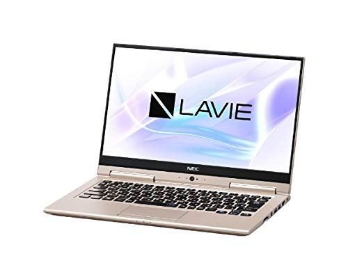 NEC 13.3型ノートパソコン LAVIE Hybrid ZERO HZ550/LAシリーズ フレアゴールド[Core i5/メモリ 8GB/SSD 256GB/Office H&B 2016]LAVIE 2018年 秋冬モデル PC-HZ550LAG   B07JJK29SB