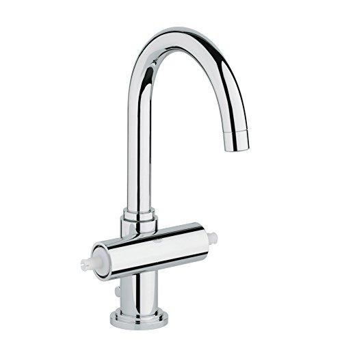 Atrio Centerset 2-Handle Single-Hole High Arc Bathroom Faucet - 1.5 GPM 000 Chrome Centerset Faucet