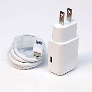 OEM Professional OPPO F1s Smartphone Quick Charge 3.0 Adaptive Fast Wall Charger with 2 Cables for USBC and MicroUSB. [White/1M Cables]