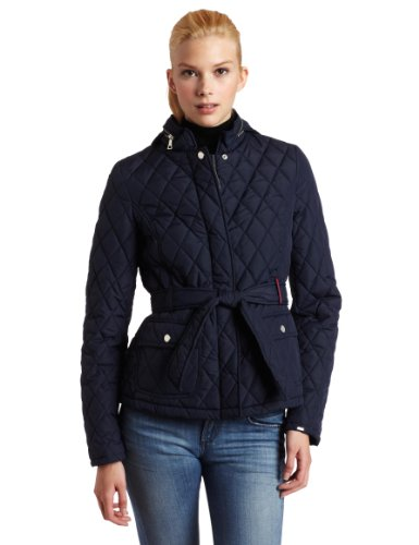 Tommy hilfiger women's quilted barn jacket