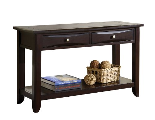 Atop Drawer Wood Console Table - 3