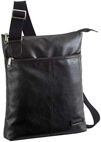 【日本製】薄型ショルダーバッグ メンズ 斜めがけ 縦型 薄マチ A4収納可能 Ipad ビジネス フォーマル 街歩き 豊岡製鞄