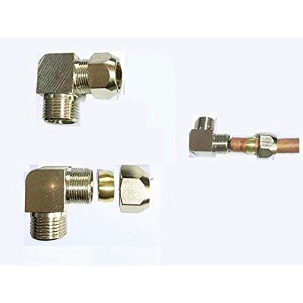 """30 Brass Compression nuts  3//8/""""   90/% discount"""