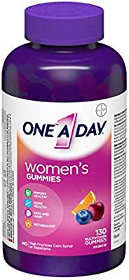 One A Day Women's Gummies Multivitamin, Specially Formulated with Vitamins and Minerals for Women, 130 C