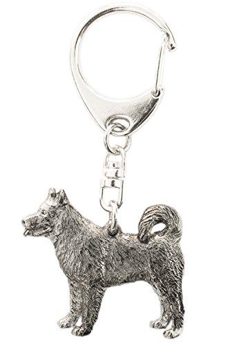 Alaskan Malamute Made in U.K Artistic Style Dog Key Ring Collection