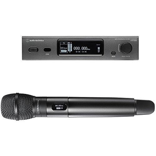 (Audio-Technica 3000 Series Wireless System Wireless Handheld Microphone System (ATW-3212/C710DE2))