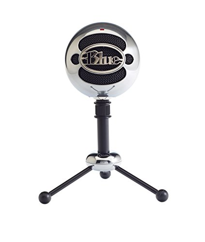 Blue Snowball USB Microphone Aluminum (Renewed)