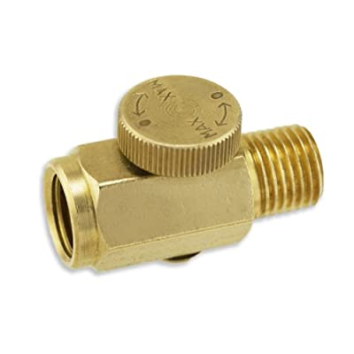 Solid Brass Air Regulator Ball Valve for Air Tools by VIC