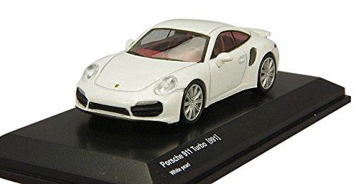 1/64 ポルシェ 911ターボ 991(ホワイト) KS07048A16
