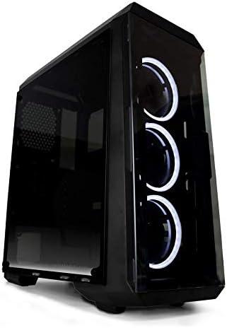 Megamania | Ordenador de Sombremesa PC Gamer Intel Core i7 up to 3,8Ghz | 16GB RAM | 1TB HDD | NVIDIA GTX 1050Ti 4GB | Caja Gaming LED: Amazon.es: Informática