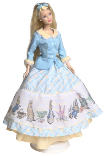 Mattel Barbie Collectables, Keepsake Treasures Peter Rabbit Barbie