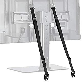 TV Anti-Tip Heavy Duty Dual Cable, Non Tipping Safety Strap Kit for Flat Screen and Furniture Mounting (STAND-SK02)