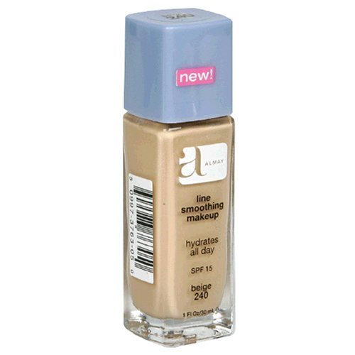 [Almay Line Smoothing Makeup SPF 15 160 Naked] (Line Smoothing Liquid Makeup Foundation)