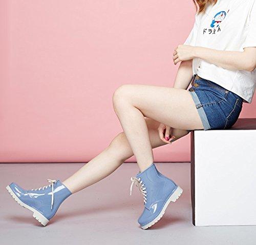 Mujeres Chelsea Boots lluvia de invierno de Botas mujer lluvia Wellies de lluvia goma Botas Botas de Scothen Botas de Botas Diesel de Moda de Botas Botas lluvia lluvia 8 de Botas Botas de PanfBxw