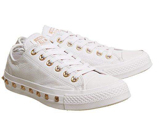 Core Ox Quartz Particle Unisex Exclusive Pale Sneaker Adulto Taylor Chuck Stud Converse Beige Lea PqEIxv